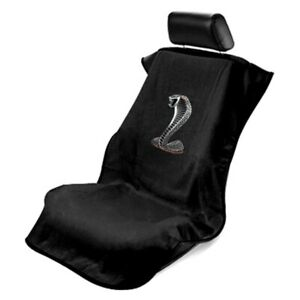 Seat Armour Universal Black Towel Front Seat Cover For Mustang Cobra
