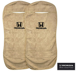 Seat Armour Universal Tan Towel Front Seat Covers For Honda pair