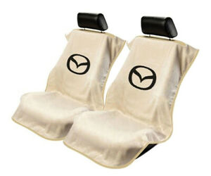 Seat Armour Universal Tan Towel Front Seat Covers For Mazda Pair