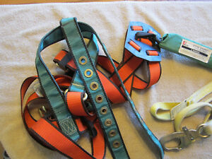 Climbing Harness industrial buisness hunting shock Absorb Lanyard used