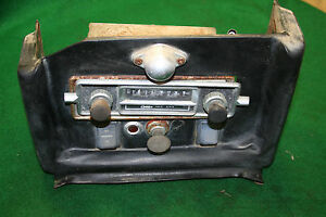 Mg Mgb 68 71 Original Radio Console Assembly
