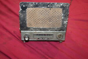 Mg Triumph Vintage Inland Am Radio