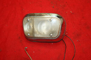 Mg Magnette Front Indicator Lamp Assembly Lucas L634