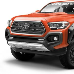 Lower Front Bumper Valance Panel For Toyota Tacoma 2016 2019 Stainless Steel Us