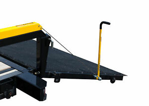 Gorilla Lift 360 Degree Easy Grip And Stow Trailer Tailgate Handle Yellow