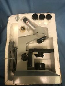Fisher Scientific Micromaster Microscopes Vshl Excellent Cond