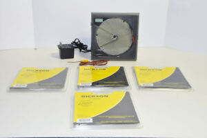 Dickson Kt602 6 Temperature Chart Recorder W Thermocouple 4 Packs Of Charts