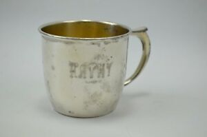 Rogers Bros 1847 Epns Is International Silver 3135 Vtg Nursery Child Baby Cup