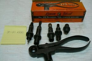 VINTAGE LYMAN IDEAL NO.310 RELOADING TOOL AND DIES FOR 30-40 KRAG