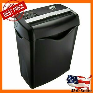 Commercial Office Shredder Paper Destroy Crosscut Heavy duty Cd Dvd Credit Card