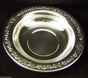 Antique Silver Serving Bowl Nuts Bon Bon Dish Tray View Our Finethings4sale
