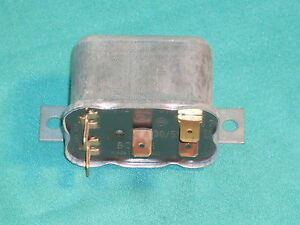 Bosch 6 V Relay Switch Fog Light Fanfare Lamp Horn Porsche 356 Vw Mercedes nos