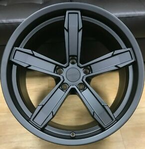 4 20x10 11 Iroc Z Staggered A s Tires Package Satin Black Camaro Wheels Rims