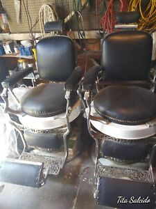 Antique Barber Chairs Koken Pick Up Only Los Angeles Area Good Condition Each