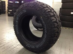 4 Lt35x12 50r18 Milestar Patagonia Mud Tires 35125018 Mt 12ply White Letter