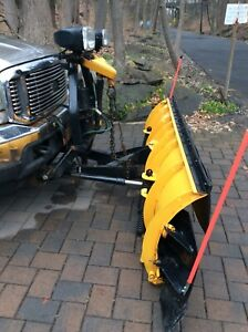 Fisher Minute Mount 2 Snow Plow Used Free F 250 If Want It