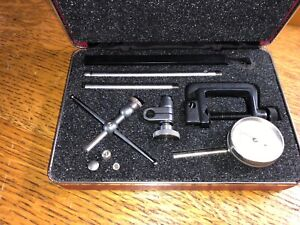 Starrett Test Dial Indicator Set No 196 Set Kit
