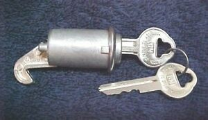 New Glove Box Lock And Gm Keys Oldsmobile 1957 1958 1961