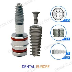 Spiral Dental Implant Sterile Ready To Use Fda iso ce Internal Hexagon System