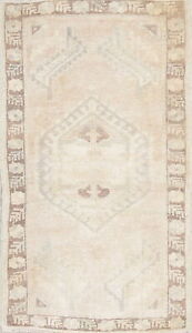 One Of A Kind Muted Color Oushak Turkish Oriental Hand Knotted 2 X3 Wool Rug