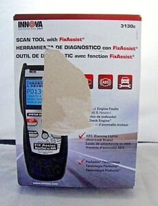 Innova Diagnostic Scan Tool Code Reader With Fix Assist For Obd2 Vehicles 3130c