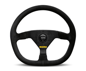Momo Steering Wheel Mod 88 Black Suede 350mm Us Dealer
