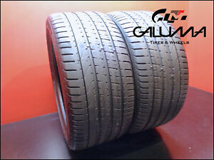 2 Two Tires Nice Pirelli 275 35 20 P Zero Runflat 102y Oem Bmw No Patches 49555
