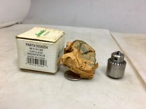 Jacobs New old 0 5 32 Drill Chuck 0006204 5 16 24 Mount Free Shipping