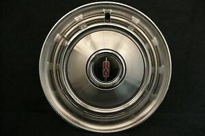 1968 Oldsmobile 14 Inch Hubcaps F 85 Delta 88 Cutlass Old24