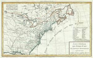 1797 Tardieu Map Of The United States