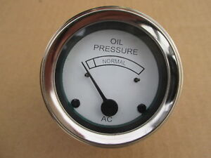 Oil Pressure Gauge Oem Quality For Allis Chalmers B C Ca G Industrial Ib Rc U Uc