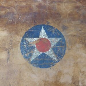 Amazing Antique Hartmann Steamer Trunk With Key Late 19th Century Painted Star