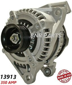 350 Amp 13913 Alternator Dodge Jeep High Output Performance New Hd