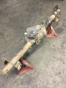 1987 1993 Oem Ford Mustang 5 0 8 8 Rear End No Differential Bare Housing Kx3