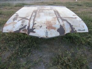 1968 Cutlass S 442 Hurst Olds Vista Cruiser Hood One Year Only For Parts Repair