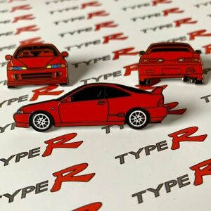 Red Integra Type R Honda Acura Lapel Pin Collectable Set Car Gift Hat Pins