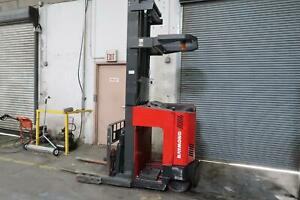 Raymond Easi R30tt 2007 Electric Stand Up Reach Forklift no Battery