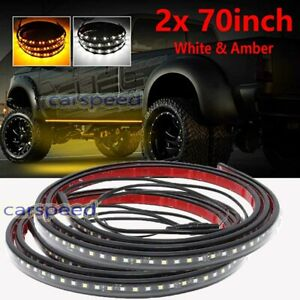 70 Truck Side Step Led Running Board Light Strip Bar For Ford F 150 F 250 F 350