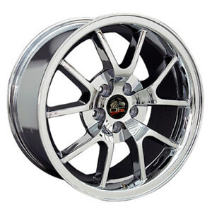 Chrome Wheel 18x9 For 1994 2004 Ford Mustang Owh0786