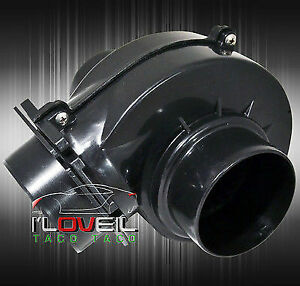 Universal 3 Electric Supercharger Short Ram Cold Air Intake System Engine Motor