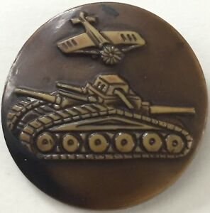 Vintage Button Large 1 75 1930 S Celluloid Airplane Tank