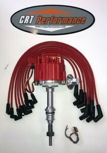 Ford 5 0l 302 Efi To Carb Conversion Hei Distributor Red Spark Plug Wires Usa