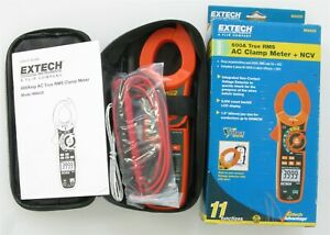 Unused Extech Ma620 True Rms Ac Clamp Meter Ncv 75
