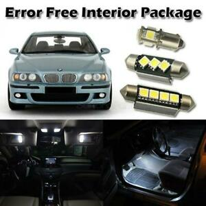 20x Error Free White Interior Light Package For 1997 2003 Bmw E39 525i 530i 540i