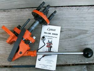 Vintage Lyman TruLine Jr Turret Press 310 reloadingloading tru-line junior true