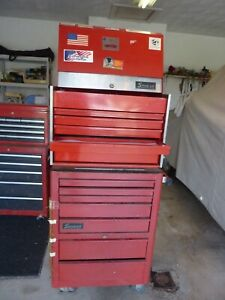 Snap On Tool Box Cabinet Top Bottom With Keys