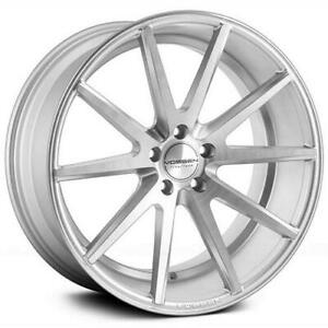 4 20x9 5 Vossen Vfs1 Silver Machine 5x4 5 5x114 3 25 Wheels Cars Suv