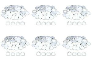 600 White Puff Pad Earring Cards Jewelry Display 1x1