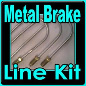 Brake Line Kit For 2003 06 Chevrolet Gmc Yukon Xl Suburban 1500 4wd