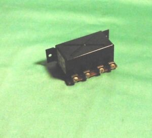 Bosch Horn Relay Porsche 356 Pre A Gm nd Nos New
